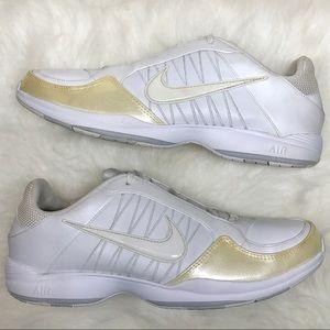 Nike White Dance & Cheer Sneaker